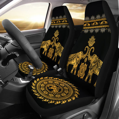 Golden Mandala Car Seat Covers | woodation.myshopify.com