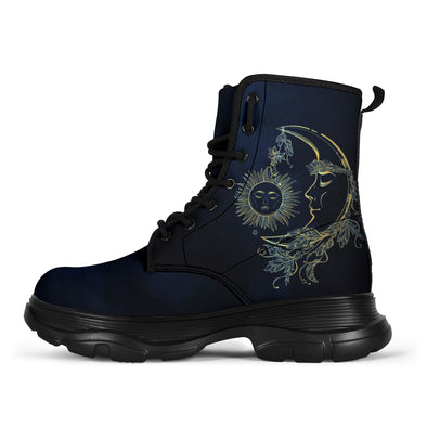 Blue Sun & Moon Classic Boots