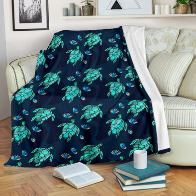 Turtle Love Blanket | woodation.myshopify.com