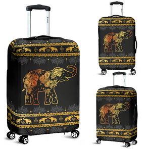 Elephant Mandala Luggage Covers | woodation.myshopify.com