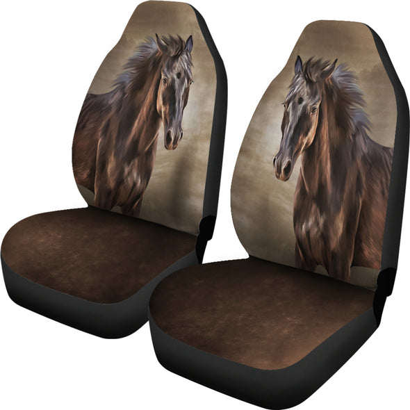 Bohemian Horse Car Seat Covers | woodation.myshopify.com