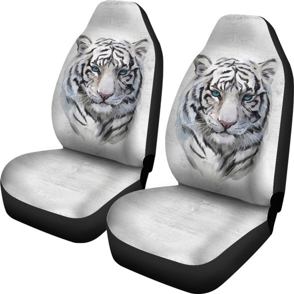 White Tiger Car Seat Covers | woodation.myshopify.com