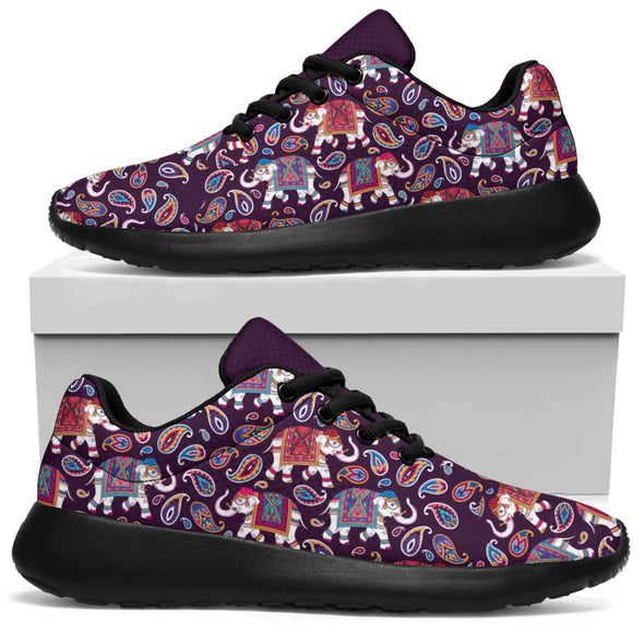 Bohemian Elephant Performance Sneakers