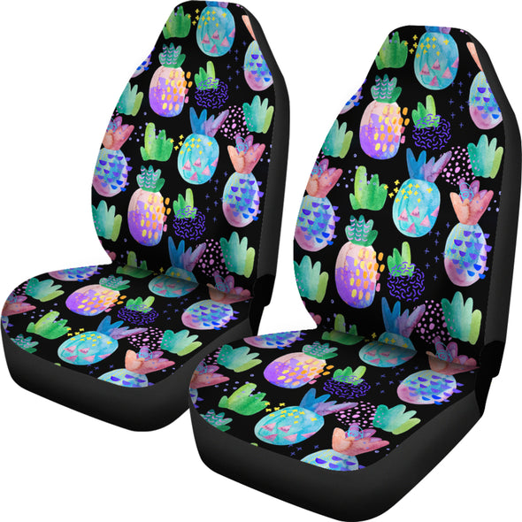 Pineapple Love Car Seat Covers | woodation.myshopify.com