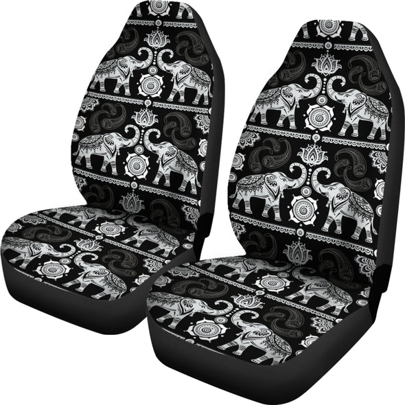 Good Fortune Elephant Car Seat Covers | woodation.myshopify.com