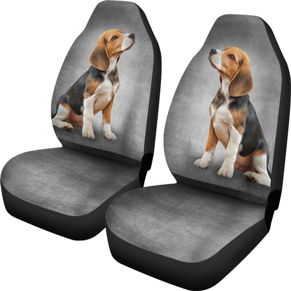 Beagle Car Seat Covers | woodation.myshopify.com