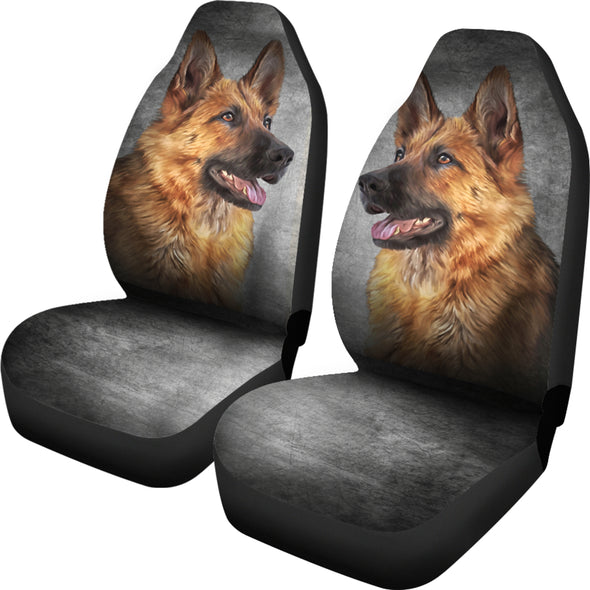 German Sheperd Car Seat Covers | woodation.myshopify.com