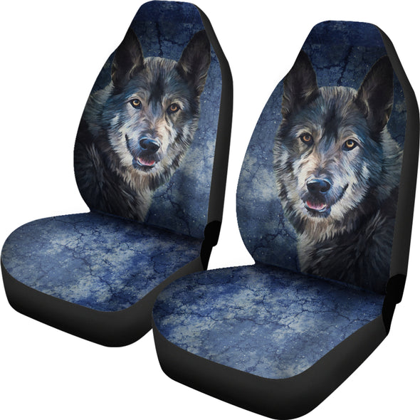 Wild Wolf Car Seat Covers | woodation.myshopify.com