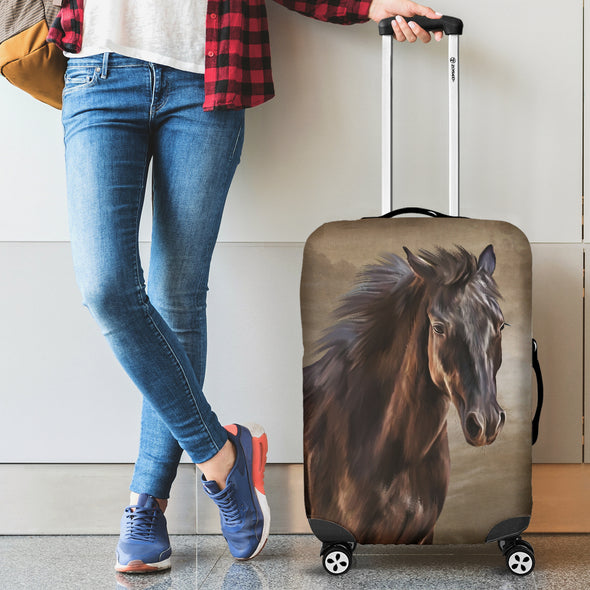 Bohemian Horse Luggage Covers | woodation.myshopify.com