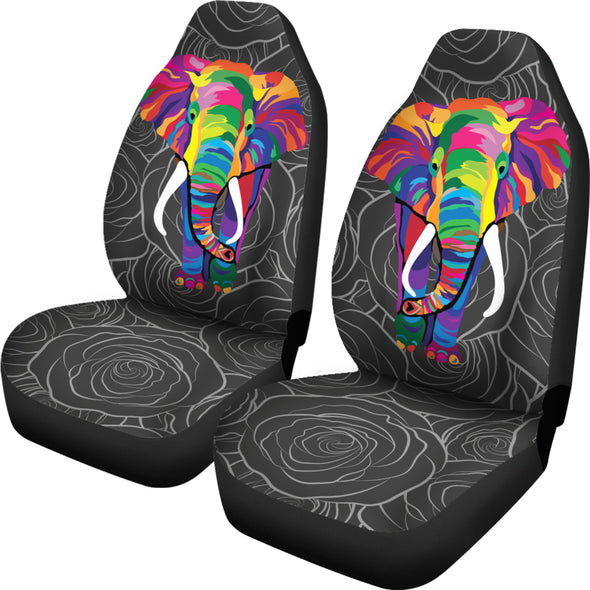 Bohemian Elephant Car Seat Covers | woodation.myshopify.com
