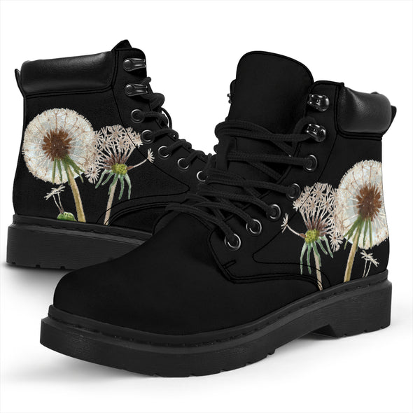 Bohemian Dandelion All-Season Boots