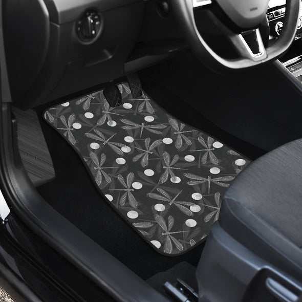 Dragonfly Front Car Mats (Set Of 2) | woodation.myshopify.com