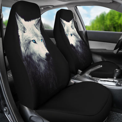 Spiritual Wolf Car Seat Covers | woodation.myshopify.com