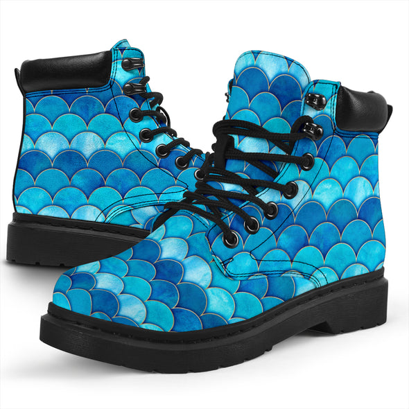 Mermaid Scale All-Season Boots