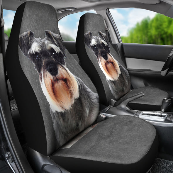 Schnauzer Car Seat Covers | woodation.myshopify.com