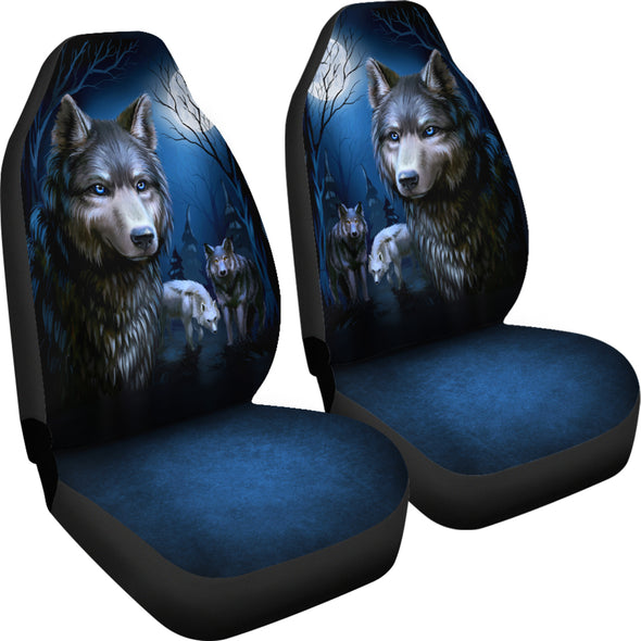 Wolf Pack Car Seat Covers | woodation.myshopify.com