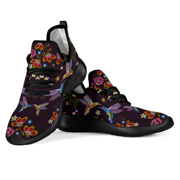 Bohemian Hummingbird Performance Sneakers