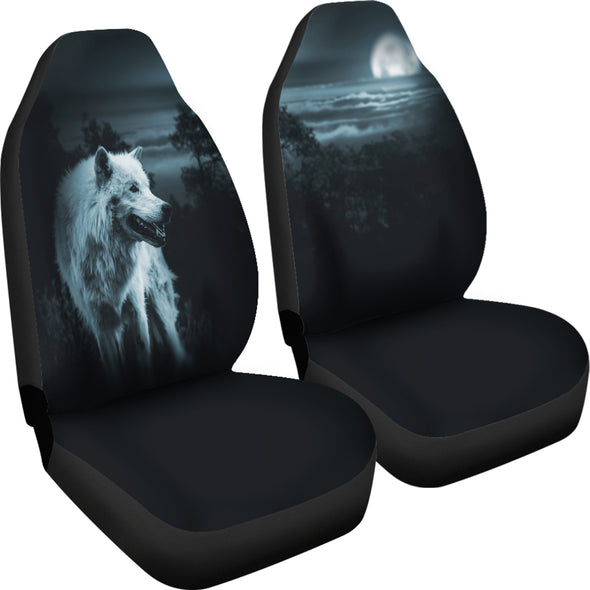 Mystical Wolf Car Seat Covers | woodation.myshopify.com