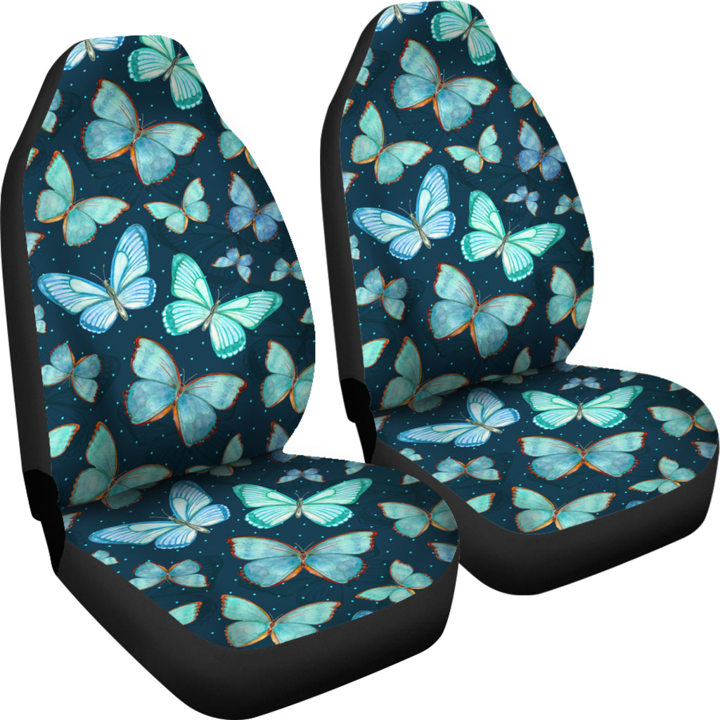Spiritual Butterfly Car Seat Covers