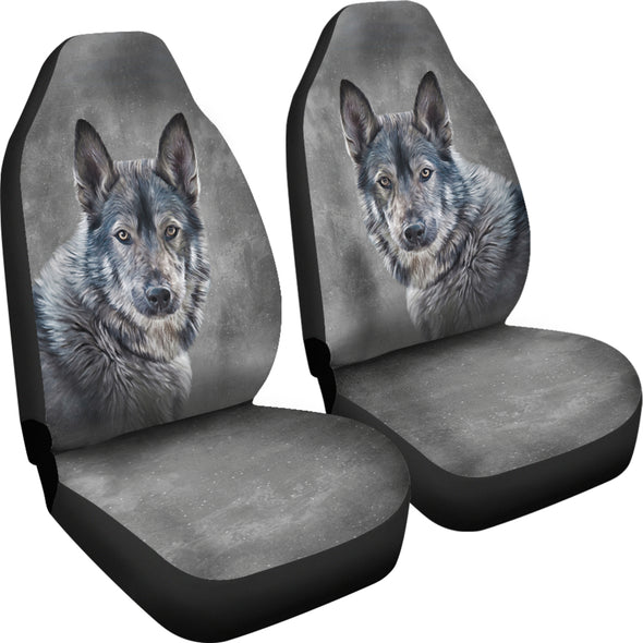 Wolf Love Car Seat Covers | woodation.myshopify.com