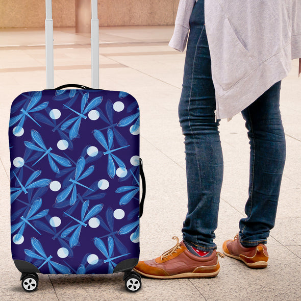 Spiritual Dragonfly Luggage Covers | woodation.myshopify.com
