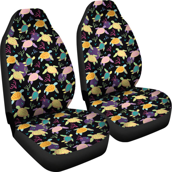 Bohemian Turtle Car Seat Covers | woodation.myshopify.com