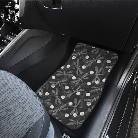 Dragonfly Front And Back Car Mats(Set Of 4) | woodation.myshopify.com
