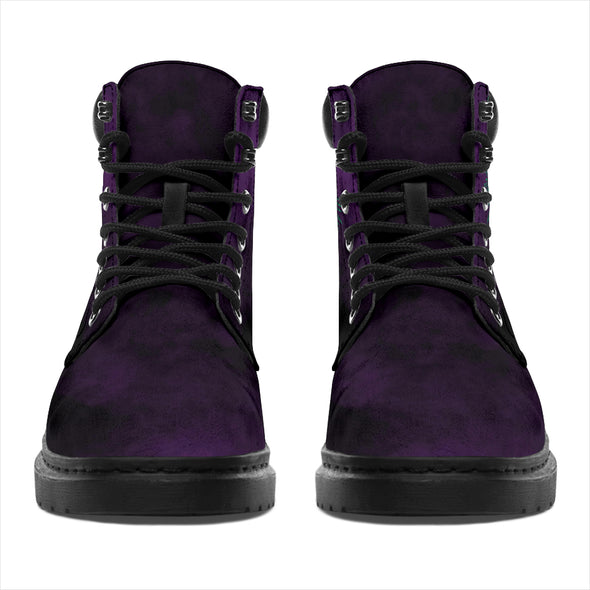 Purple Sun & Moon All-Season Boots