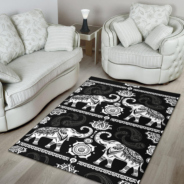 Good Fortune Elephant Rug