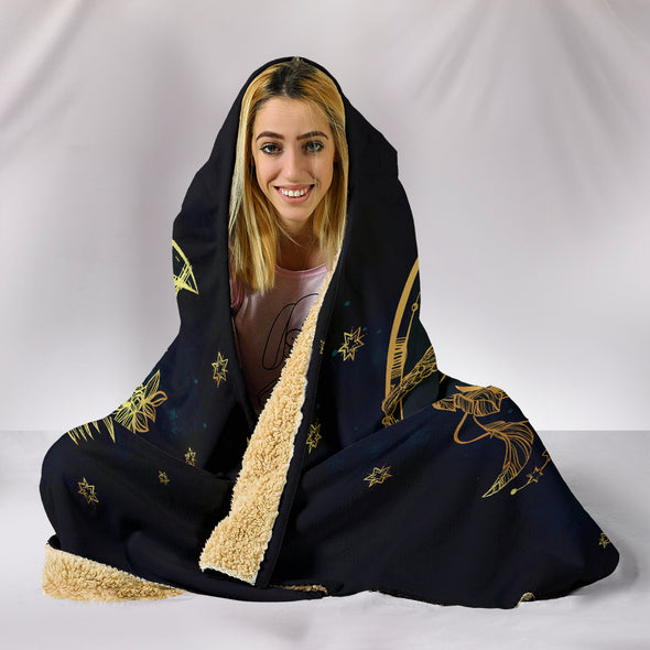 Sun & Moon Hooded Blanket | woodation.myshopify.com
