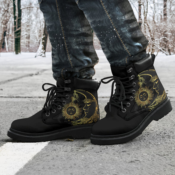 Charcoal Sun & Moon All-Season Boots