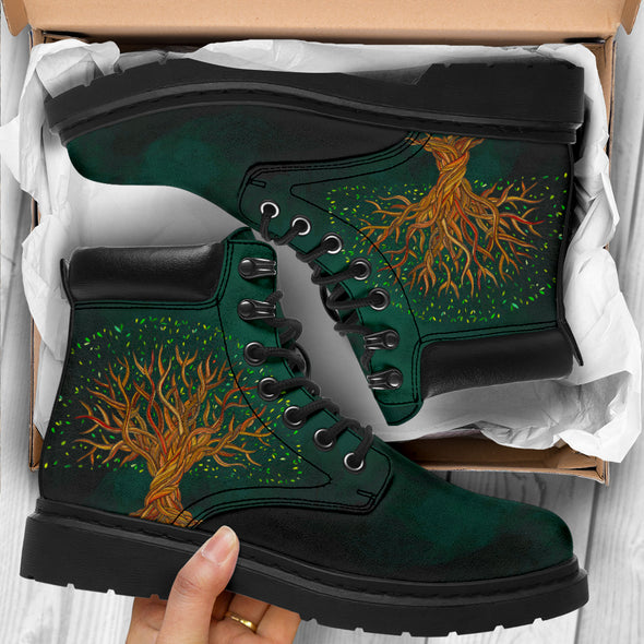 Emerald Tree Of Life All-Season Boots