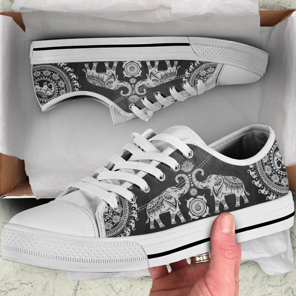 Grey Good Fortune Shoes