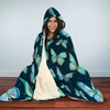 Spiritual Butterfly Hooded Blanket | woodation.myshopify.com
