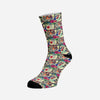 Bohemian Tiger Socks | woodation.myshopify.com
