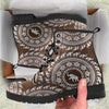 Tribal Mandala Elephant Boots | woodation.myshopify.com