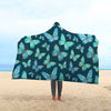 Spiritual Butterfly Hooded Blanket