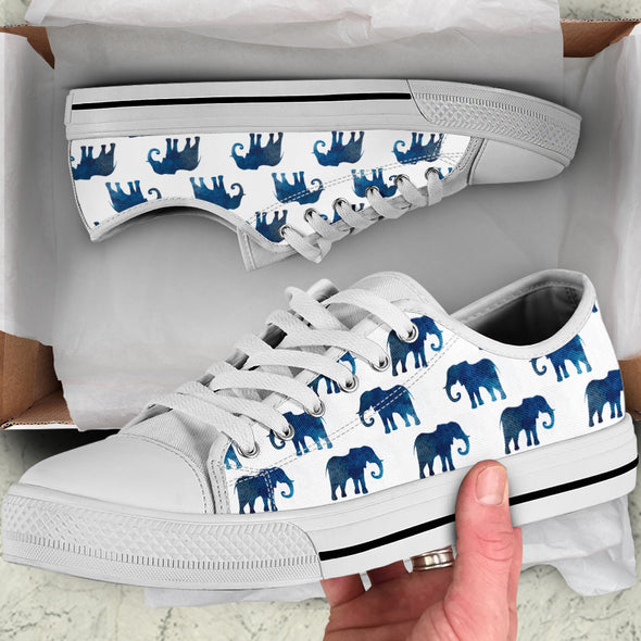 Watercolor Elephant Shoes | woodation.myshopify.com
