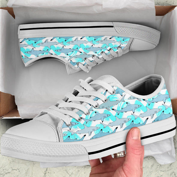 Shark Love Shoes | woodation.myshopify.com