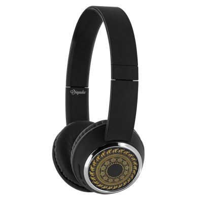 Golden Mandala Bluetooth Headphones | woodation.myshopify.com