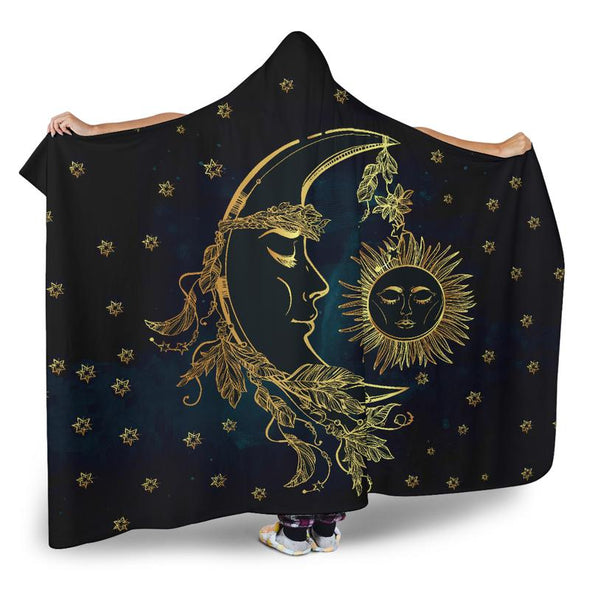 Sun & Moon Hooded Blanket