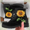 Bohemian Sunflower Boots