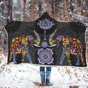 Lucky Bohemian Hooded Blanket | woodation.myshopify.com
