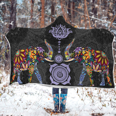 Lucky Bohemian Hooded Blanket