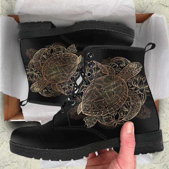 Golden Turtle Boots