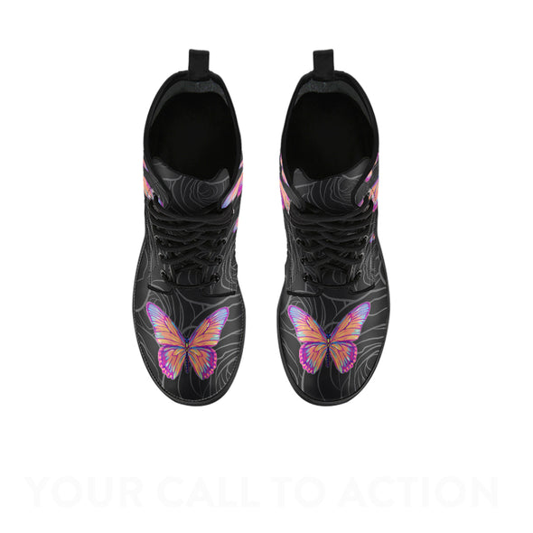 Butterfly Love Boots | woodation.myshopify.com