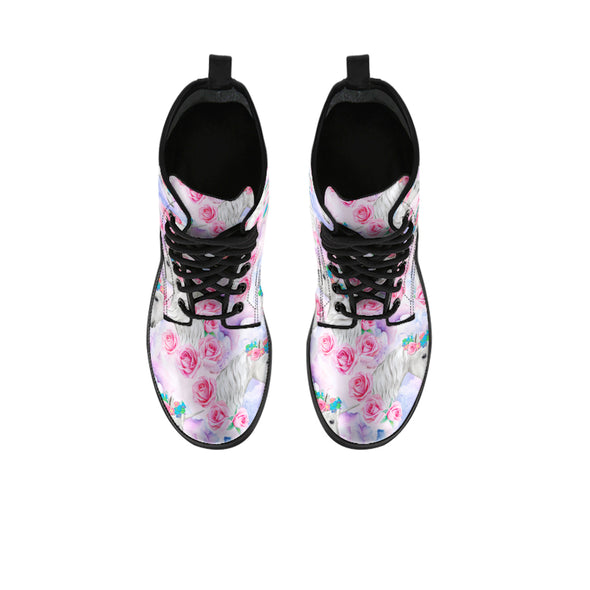 Unicorn Rose Boots | woodation.myshopify.com