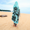 Mandala Watercolor Hooded Blanket | woodation.myshopify.com