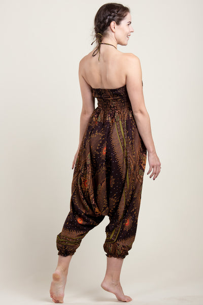 Peacock Eye Artisan Jumpsuit Haaremihousut
