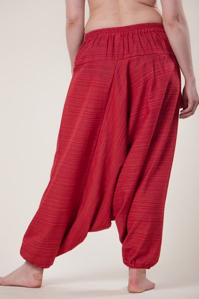 Pinstripe Red Hill Tribe Artisan Low Cut Haaremihousut